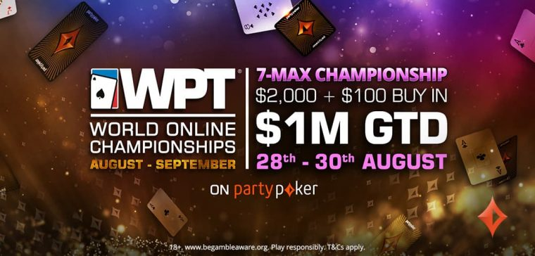 Eder Campana won the WPTWOC 7-Max Championship event online at partypoker and padded his bankroll with a huge $169,957 payday.