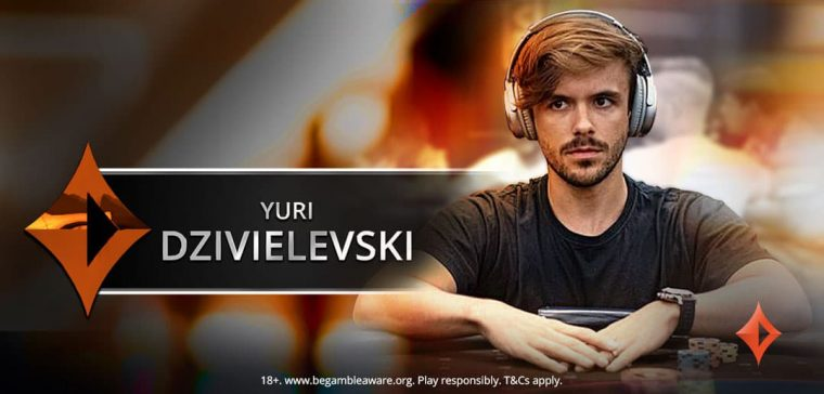 partypoker is delighted to announce that Brazilian poker MTT senstion Yuri Dzivielevski is the newest member of Team partypoker. Welcome aboard, Yuri!
